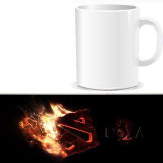 чашка подарочная с печатью DOTA 2