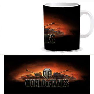 Чашка с принтом World of Tanks 0032S