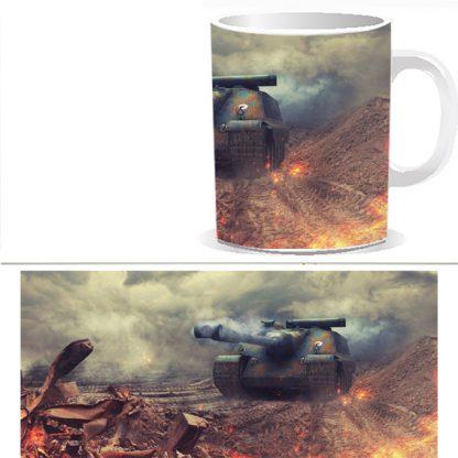 Чашка принтом World of Tanks 0034S
