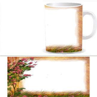 Чашка с фото - Поле W0021S