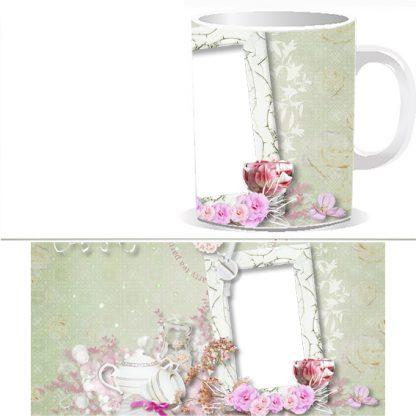 Чашка с фото - нежность W0029S