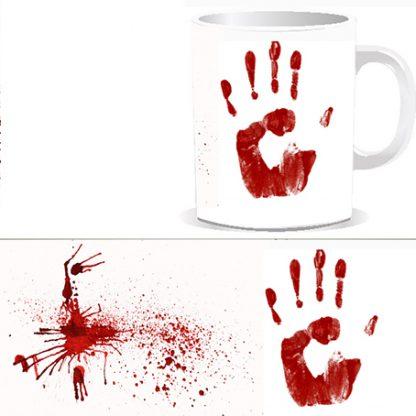 Страшный Подарок № 1. Чашка с жутким принтом